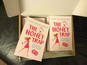 The Honey Trap paperbacks